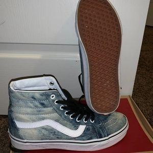Vans Acid denim jeans shoes M5.5